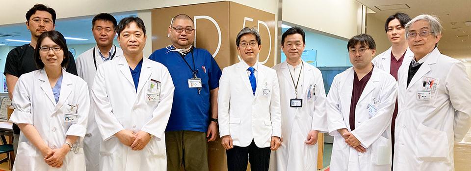 滋賀医科大学脳神経外科学講座スタッフ集合写真